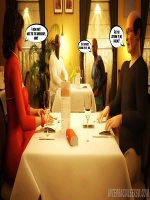8muses Interracial Comics Wedding Anniversary- InterracialSex3D image 05