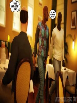 8muses Interracial Comics Wedding Anniversary- InterracialSex3D image 09
