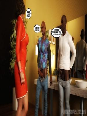 8muses Interracial Comics Wedding Anniversary- InterracialSex3D image 16