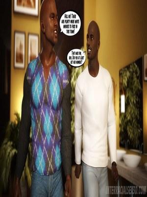 8muses Interracial Comics Wedding Anniversary- InterracialSex3D image 60