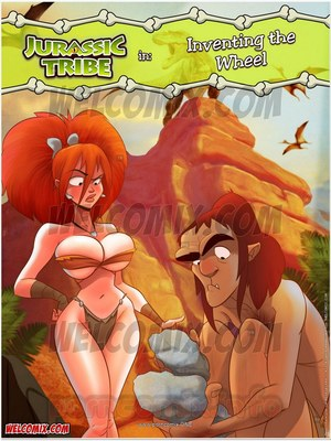 Welcomix- Jurassic Tribe 3- Inventing Wheel 8muses Incest Comics