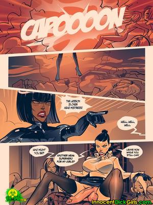 8muses Adult Comics Who Will Save Coxgirl- InnocentDick Girls image 12