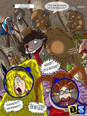 8muses Adult Comics Wild Thornberrys- New Generation of The Tribe image 02