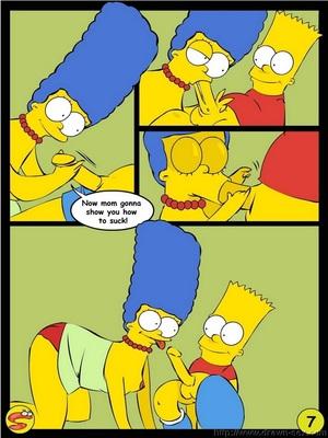 8muses Adult Comics Wit Simpsons- Drawn Sex image 07