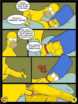 8muses Adult Comics Wit Simpsons- Drawn Sex image 09