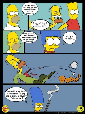8muses Adult Comics Wit Simpsons- Drawn Sex image 15