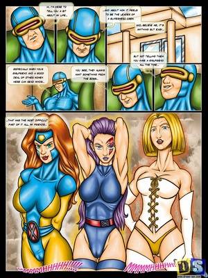 X-Men- X-Men Girls 8muses Adult Comics