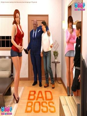 Y3DF- Bad Boss 8muses Y3DF Comics