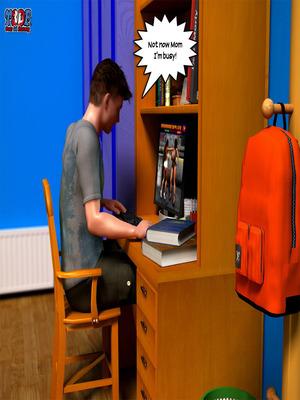 8muses Y3DF Comics Y3DF- Busted image 03