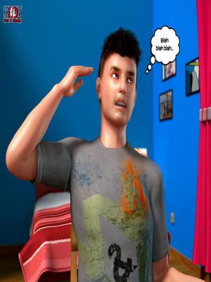 8muses Y3DF Comics Y3DF- Busted image 05