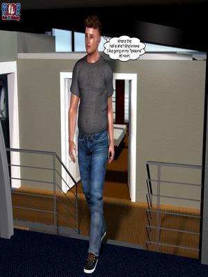 8muses Y3DF Comics Y3DF- Caught 2 image 04