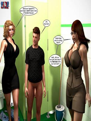 8muses Y3DF Comics Y3DF- Caught 2 image 106