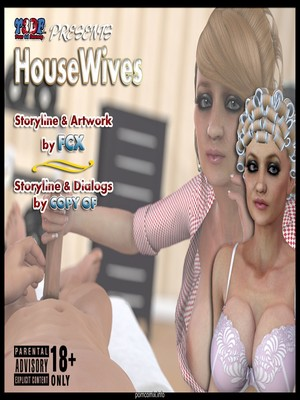 Y3DF- Housewifes 8muses Y3DF Comics