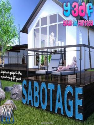 Y3DF- Sabotage 8muses Y3DF Comics