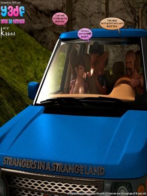 Y3DF- Strangers in a StrangeLand 8muses Y3DF Comics