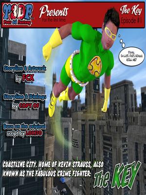 Y3DF- The Key 8muses Y3DF Comics