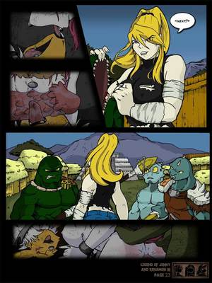 8muses Furry Comics [Yawg] The Legend Of Jenny And Renamon 3 image 24