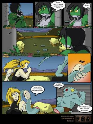 8muses Furry Comics [Yawg] The Legend Of Jenny And Renamon 3 image 29