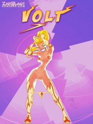 Zap N Blast Comix- Volt 8muses Adult Comics