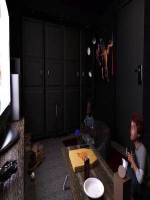 Zz2tommy- Morgan – VR Blackmail 8muses 3D Porn Comics