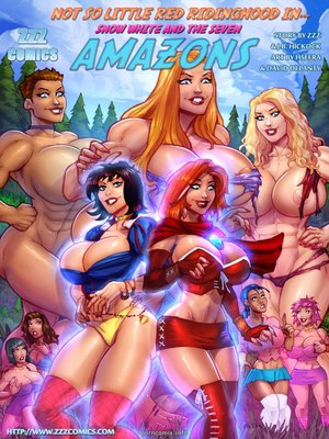 8muses Porncomics ZZZ – Snow white and seven amazons image 01