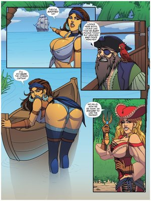 8muses Adult Comics ZZZ Comix- Thar BE GTS image 04