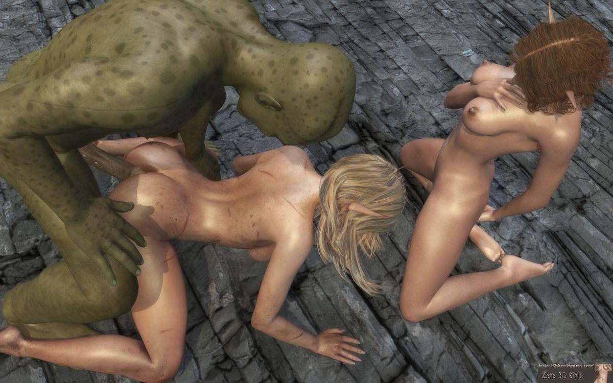 Девушка и монстр секс рассказ