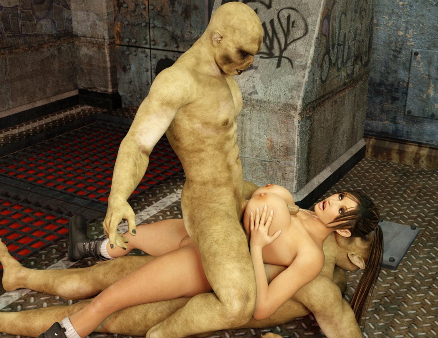 Онлайн порно мультики секс с чудовищами