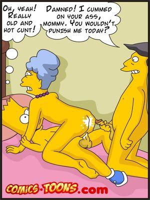 Mature adult comics