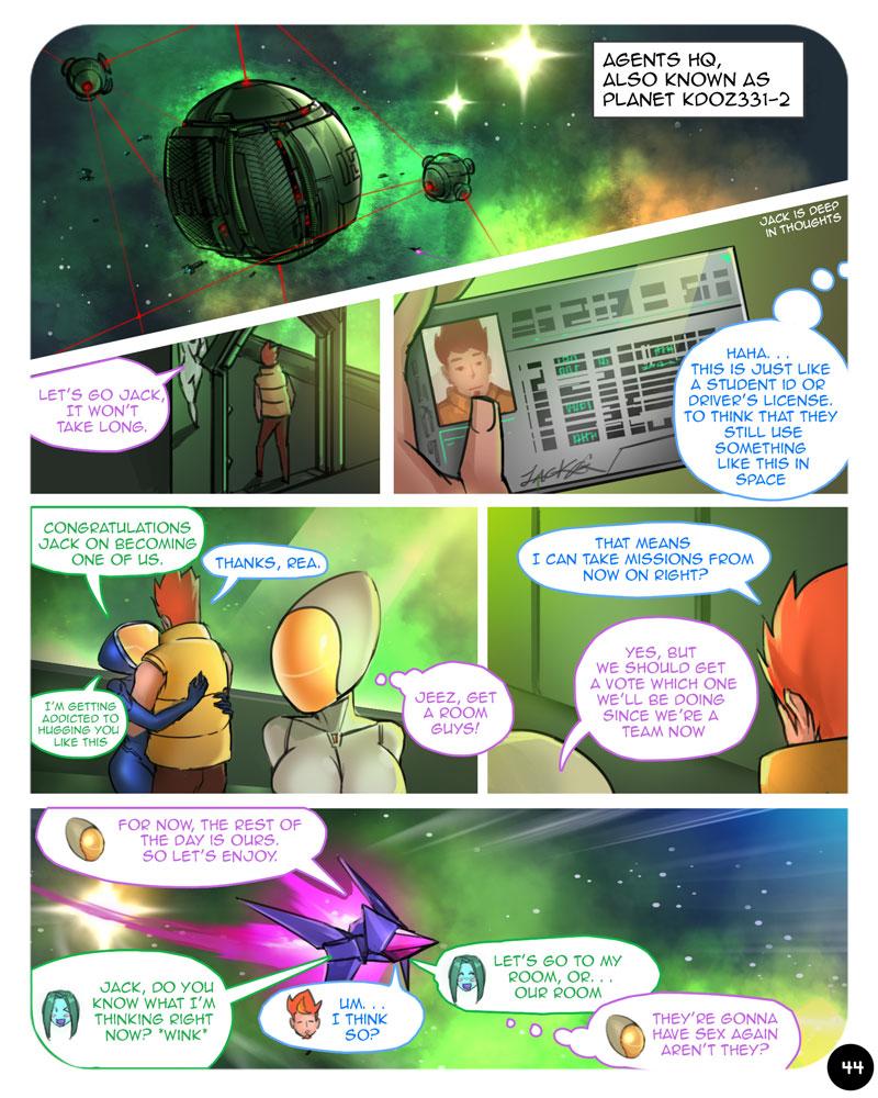 ebluberry comics